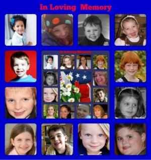 In memory of Sandy Hook Elementary